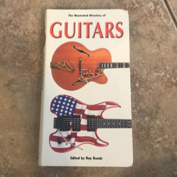 Illustrated directory of guitars 🎸 book